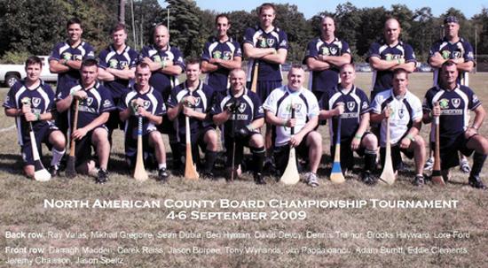 The Barley house Wolves Hurling Team