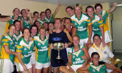 The Shamrock's celebrate their epic 2004 North East Senior title