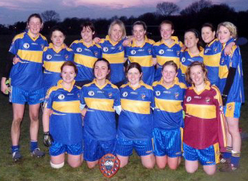 Manchester Metropolitan University winners of the Ladies British University Gaelic Football Division 3 Championship