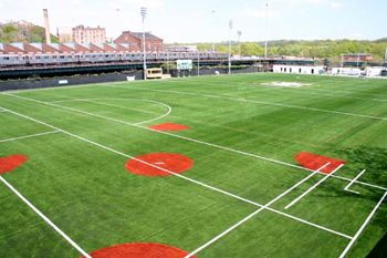 The revamped Gaelic Park with its new surface put down in 2007. Photo by Peter Marney.