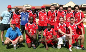 #25 English native gives Gaelic Games a start in Zimbabwe