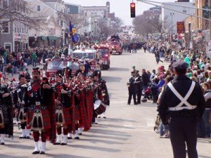 # 28 – Clubs march in St Patrick's Day parades across the US and Asia