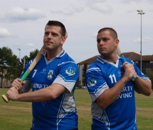 #158 US Air Force hurlers prepare for battle