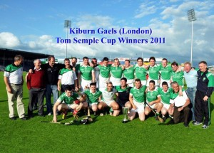 # 248 London champions Kilburn Gaels win International tournament