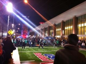 #314 Hurling live from Super Bowl Village ….