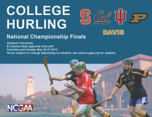 # 342 Hurling makes history at Stanford with second 'Nationals