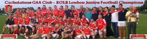 # 450 Cuchulain's take London Division 2 league title