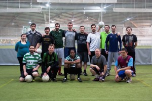 # 481 Gaelic Football under the Northern Lights