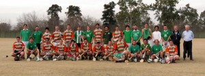 # 587 Hurling Club of Buenos Aires historic journey to Ireland