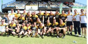 # 597 NSW tops in football, Western Oz kings of hurling