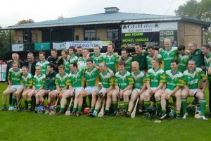 Brothers Pearse, the oldest GAA club in London, pictured here on winning the Intermediate Hurling title in 2010, are back in the bigtime hwen qualfying for a senior final in early November. (Photo courtesy of Bros Pearse GAA).