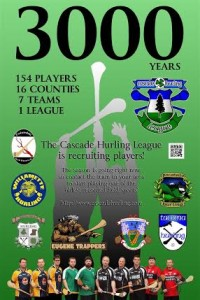 # 631 Cascade Hurling League starts this weekend