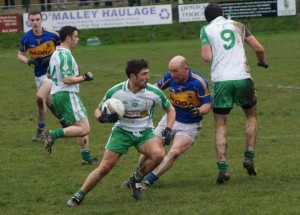 Heavy going in the London v Tipp game at Ruislip on Sunday (Photo by Declan Flanagan).